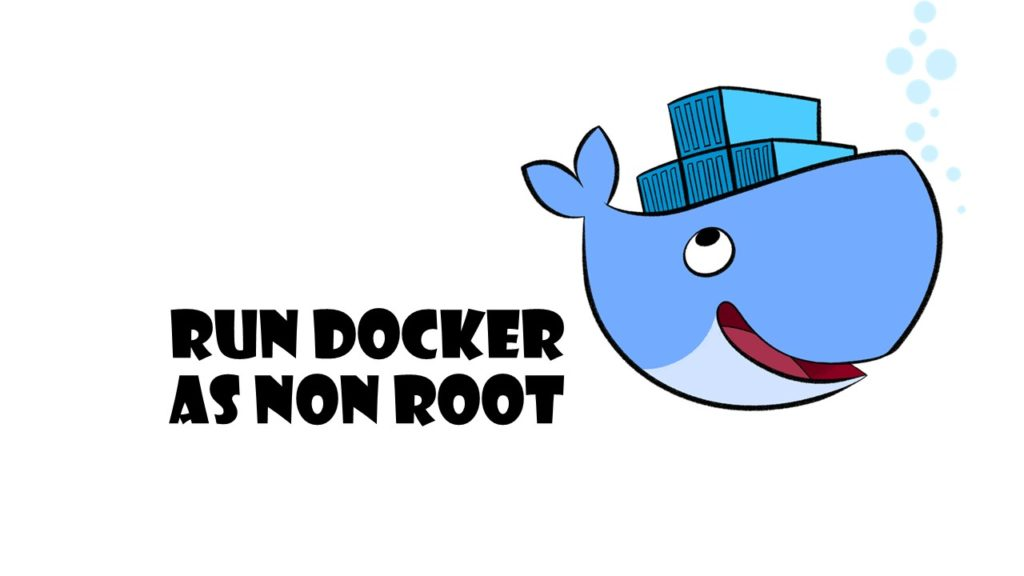 RUN docker as non root